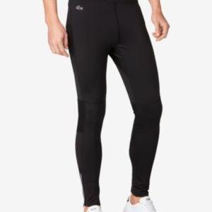 Lacoste Men's Performance Leggings Black